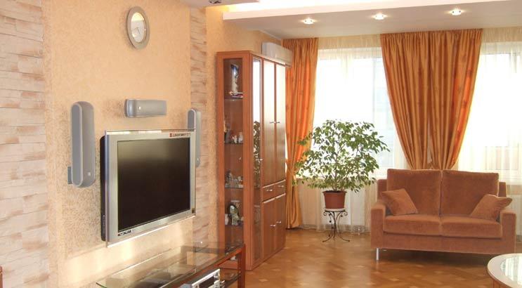 Ремонт гостиной в Тольятти