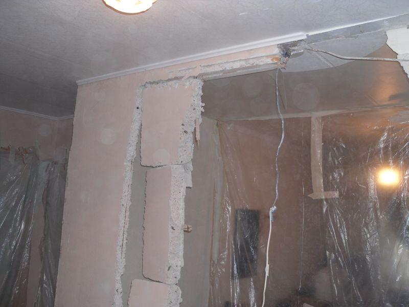 Демонтаж стен в Тольятти